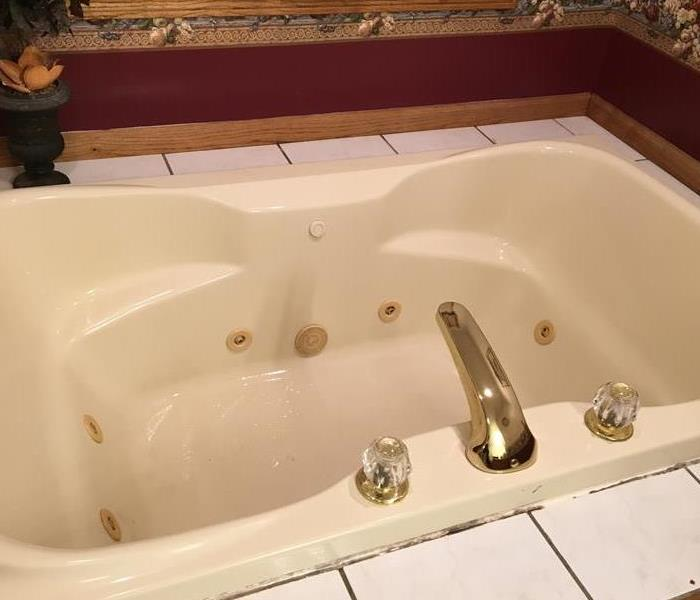 Cleaned Bath Tub from Fire