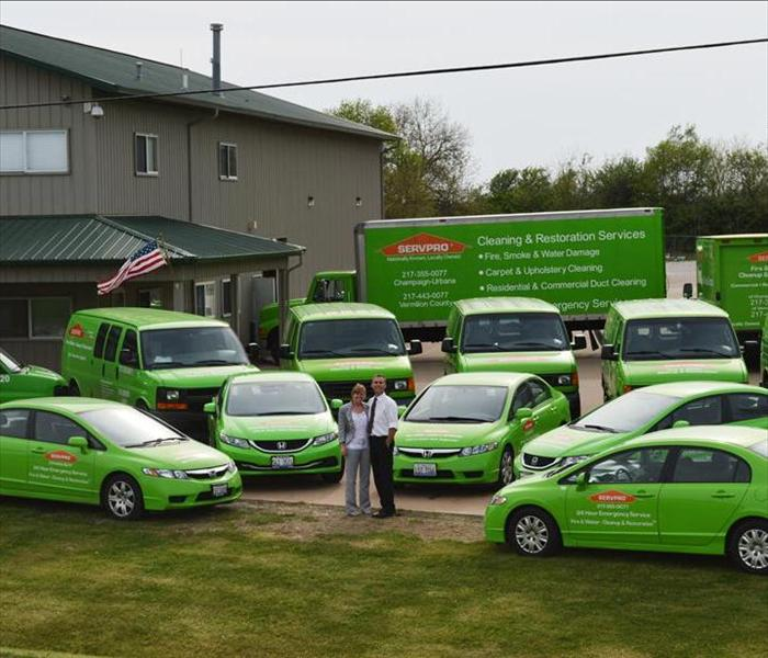 Water Damage Champaign, IL Residents: SERVPRO is Ready To Serve You!