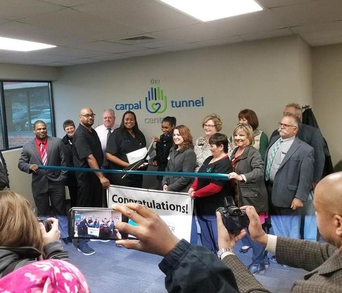 Commercial Carpal Tunnel Center Ribbon Cutting
